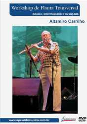 Imagem de DVD Workshop de Flauta Transversal Altamiro Carrilho