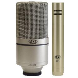 Imagem de Kit Microfone MXL Estúdio  - 990/991