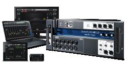 Imagem de Mesa Digital Soundcraft 16 Canais Rack - UI16