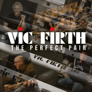 Banner Lateral Vic Firth