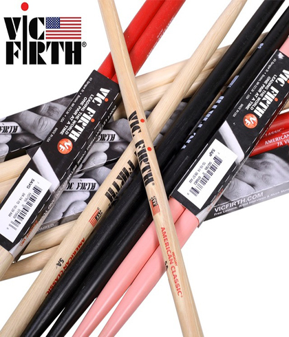 Banner Home Vic Firth