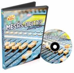 Imagem de DVD Edon Curso de Mesas Digitais Vol 1 (Yamaha 01V96)