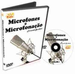 Imagem de DVD Edon Curso de Microfones e Microfonação Vol 1