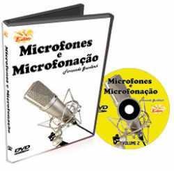 Imagem de DVD Edon Curso de Microfones e Microfonação Vol 2