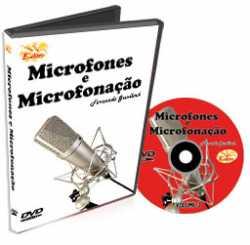 Imagem de DVD Edon Curso de Microfones e Microfonação Vol 3