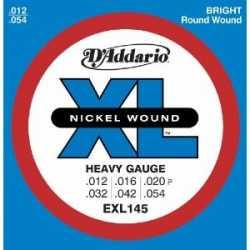 Imagem de Encordoamento D´addario Guitarra 012 Heavy Gauge - EXL145