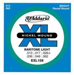 Imagem de Encordoamento D´addario Guitarra 013 Baritone light