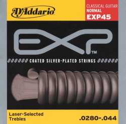 Imagem de Encordoamento D´addario EXP Violão Nylon Encapada Normal Tension - EXP45