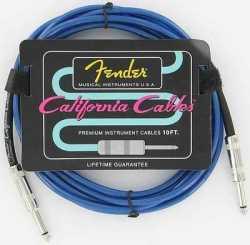 Imagem de Cabo Instrumento Fender 3m Azul - IZ2755