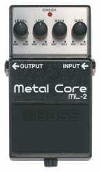 Imagem de Pedal Efeito Boss Metal Core ML2
