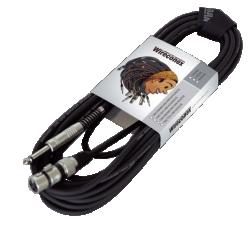 Imagem de Cabo Microfone Wireconex XLR/P10 - 05 Metros MPAE05