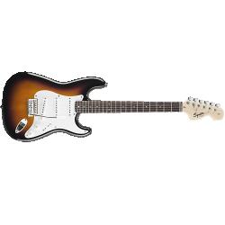 Imagem de Guitarra Fender Squier Affinity Strat Brown Sunburst - 0310600532
