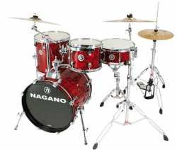 Imagem de Bateria Nagano Concert Gig 10/14/18 Abalone Red - CONCGIGARD