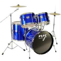 Imagem de Bateria NY First Completa Azul - MUSIC51008