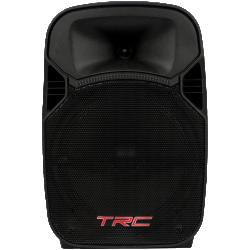 """Imagem de Caixa TRC Ativa 10"""" 200W C/ Bateria 12V/ Mic C/ Fio - TRC329"""