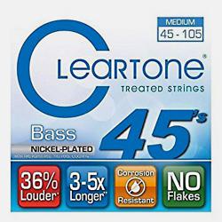 Imagem de Encordoamento Cleartone Nickel Bass Medium 4 Cordas 045-105 - WMS000505