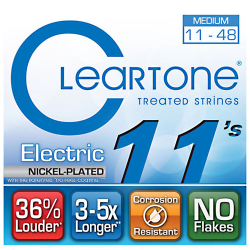 Imagem de Encordoamento Cleartone Guitarra 011 Medium 11-48 - WMS00485