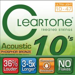 Imagem de Encordoamento Cleartone Violão Aço Phosphor Bronze Extra Light 10-47 - WMS00494