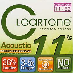 Imagem de Encordoamento Cleartone Violão Aço Phosphor Bronze Custom Light 11-52 - WMS00495