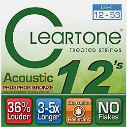 Imagem de Encordoamento Cleartone Violão Aço Phosphor Bronze Light 12-53 - WMS00496