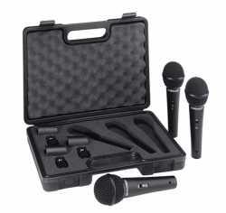 Imagem de Microfone Behringer kit C/ 3 Mics - XM1800S