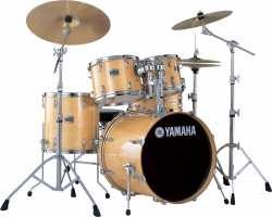 Imagem de Bateria Yamaha Stage Custom 10/12/14/20 100% Birch - Natural Wood
