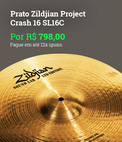 Prato Zildjian Project Crash 16 SL16C