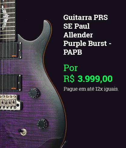 Guitarra PRS SE Paul Allender Purple Burst - PAPB