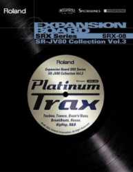 Imagem de Placa de Expansão Roland SRX-08 Platinum Trax